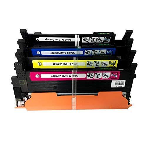 Cartucho de tóner de Repuesto para impresoras HP CF244A 44A Compatible con impresoras HP Laserjet Pro M15a M15w, HP Laserjet Pro MFP M28a M28w, Color 1 Set(C,Y,M,BK) 1 Set(C,Y,M,BK)