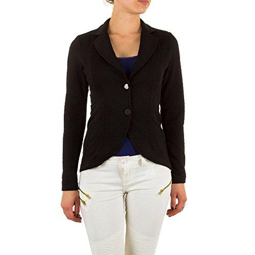 Ital-Design - Veste de tailleur - Femme Noir - Noir