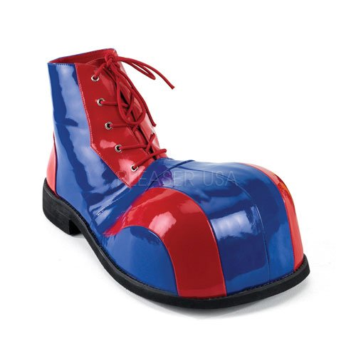 Funtasma Clown-Schuhe Clown-05 blau/rot