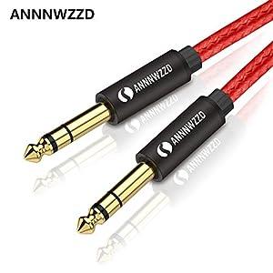 Dilwe Cable de Audio XLR Conector XLR Macho a Hembra de 3 Pines Conector Micr/ófono Cable de Extensi/ón de Audio Cable