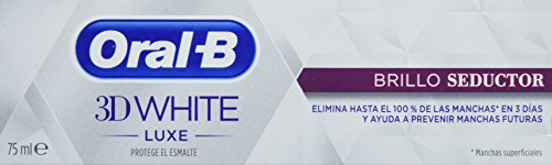 Oral-B 3D White Luxe Brillo Seductor Pasta