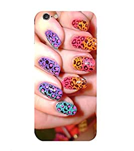 Nail Polish Printed Back Cover for Iphone 6