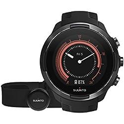 Suunto 9 Baro Reloj Multideporte GPS, Unisex, 24.5 cm, Negro