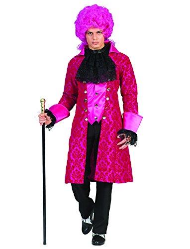 Kostüm Marquis Jolando Herren Rokoko Barock Graf Größe 56/58 Renaissance schwarz pink Adel...