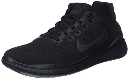 best website a39f4 59e36 Nike Free Rn 2018, Zapatillas de Running para Hombre, Negro  (Black Anthracite