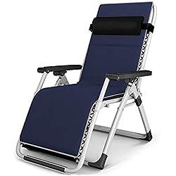 BLWX-Sedia pieghevole - Sedia reclinabile con Schienale reclinabile per Sedia a Sdraio e Sedia a Sdraio Sedia Pieghevole (Colore : E)