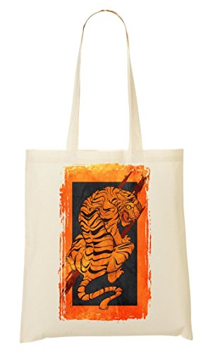Japanese Artwork Tiger Orange Is The New Black Sac Fourre-Tout Sac À Provisions