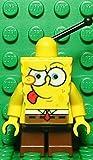 LEGO SpongeBob Squarepants: Spongbob Mit Tongue Out Minifigur - LEGO