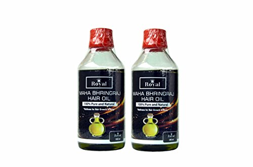 Royal 100% Pure And Natural Mahabhringraj Hair Oil- 400ML