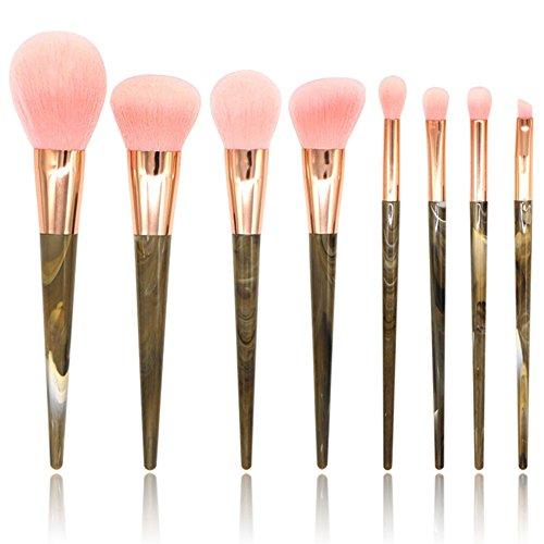Artifun 8 pcs Pro Pinceaux de maquillage kit