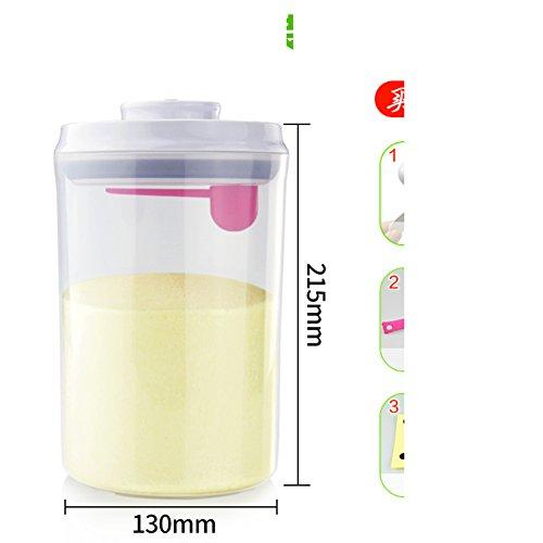 Runde Milch pulver dosen Luftdicht Dampproof Portable] Milch-kasten Lagerung tank Milchpulver fass...