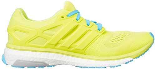 adidas Energy Boost Esm M, Chaussures de Sport Homme Jaune (Solar Yellow/Solar Yellow/Bright Cyan)