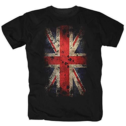 England Fußball-t-t-shirt (Great Britain Flag T-Shirt (M))