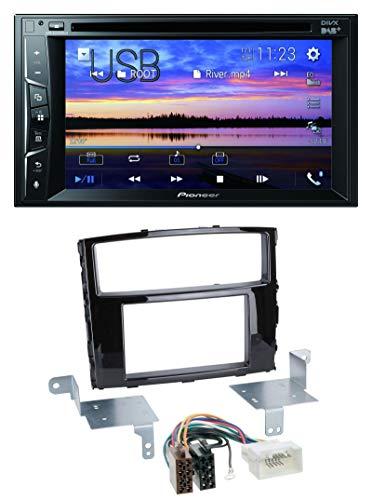 caraudio24 Pioneer AVH-A3200DAB Bluetooth 2DIN USB DVD DAB MP3 Autoradio für Mitsubishi Pajero Shogun ab 14