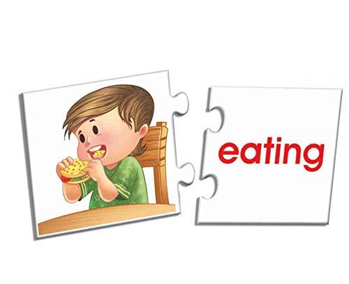 Creative Educational Aids P. Ltd. Action Words Puzzle (Multi-Color)