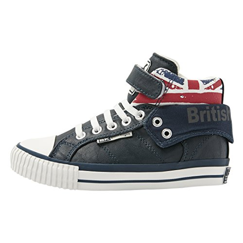 British Knights Roco Bkc-3702c-04, Baskets Hautes garçon