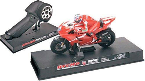 Preisvergleich Produktbild BYCMO Ducati Desmosedici Casey Stoner Motorrad für Autorennbahnen (Carrera, SCX, Ninco, Scalextric, ...)