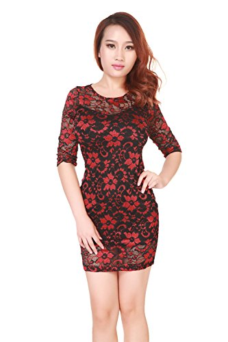 sexylady - Robe - Femme taille unique red