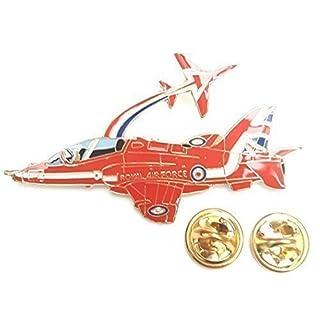 Red Arrows 2 Aircraft Enamel Lapel Pin Badge