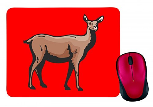 lamas-stands-looks-at-camel-pair-of-hofer-mouse-mat-in-black-white-blue-pink-yellow-red-green-mousep