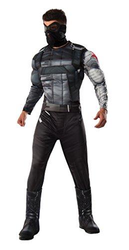 Men's Deluxe Civil War Winter Soldier Fancy dress costume Standard - Soldier Kostüm Winter