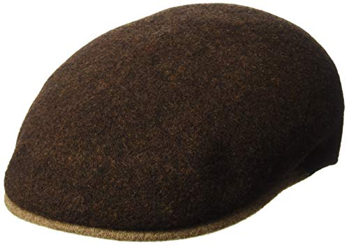 Imagen de kangol  wool melange 504 de lana xl 60 61 cm  marrón oscuro