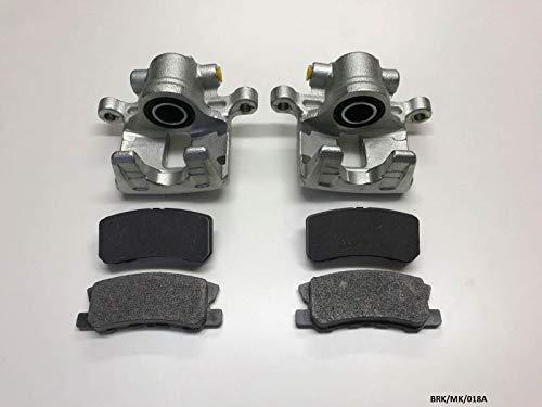 Crown Nty 2x pastiglie pinza freno e freno posteriore Caliber PM 2007-2012302mm disch