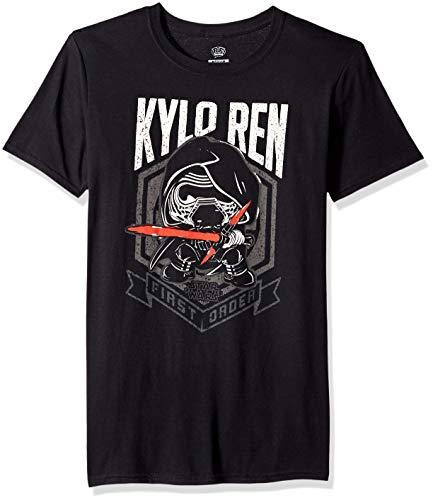 Star Wars: The Last Jedi Kylo REN First Order Pop! Tees Camiseta con Gráfico | M