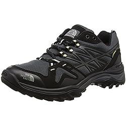 North Face M Hedgehog Fastpack GTX (EU), Hombre Zapatillas de Trail Running, Varios Colores (TNF Black/High Rise Grey), 43 EU