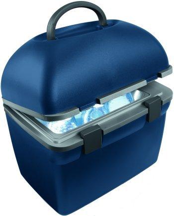 Mobicool F38, Thermo-elektrischer 38 Liter Mini-Kühlschrank, 230 V, für Catering, Büro, Hotel oder zu Hause, Silber