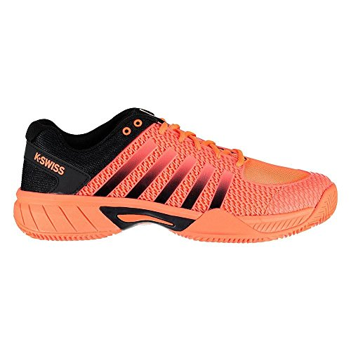 K-Swiss Performance Herren Express Light HB Tennisschuhe, Orange (Neon Blaze/Black 815m), 41 EU