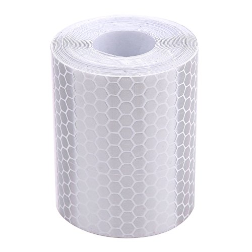 YouN 5cm*300cm Reflective Tape Stickers Car Styling for Automobiles White