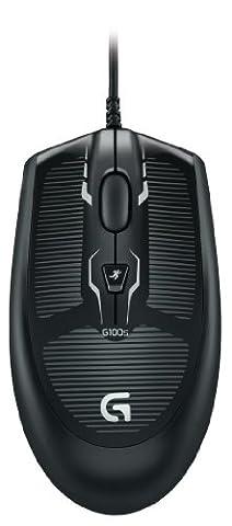 Logitech G100S optische Gaming Maus (2500dpi, USB) schwarz