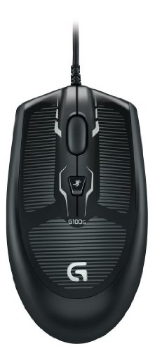 Price comparison product image Logitech G100s Optical Gaming Mouse - Black