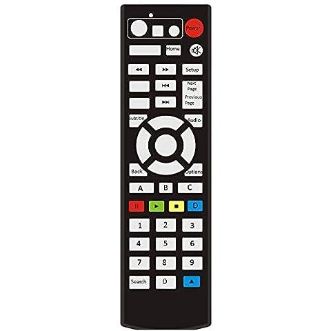 Clob télécommande pour Western Digital WD TV Live Wdbhg70000nbk Wdbgxt0000nbk.
