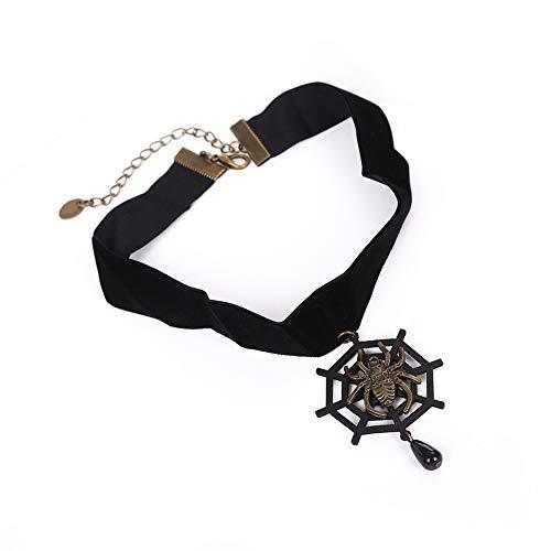 JUNMYEON Damen Halskette Vintage,Halskette Einstellbar Lange Ketten Für Damen Und Frauen