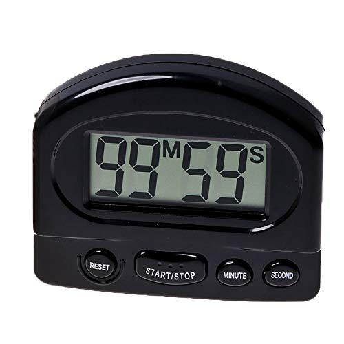 Cocina digital electrónico cuenta regresiva del temporizador con imán dígitos grande alarma...