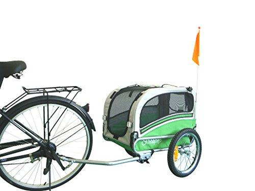 Snoopy carro para perro de bicicleta