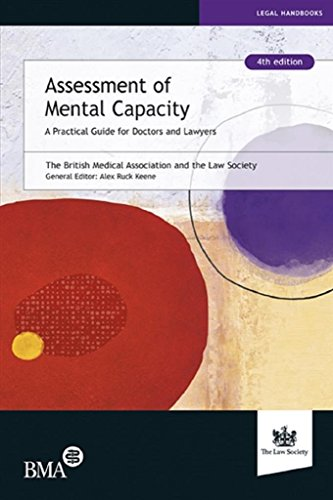 Assessment of Mental Capacity (English Edition)