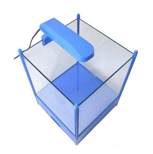NANO QUBE 4 KIDS (blau / 16 L) H-250 Aquarium - Set mit Beleuchtung + Innenfilter -