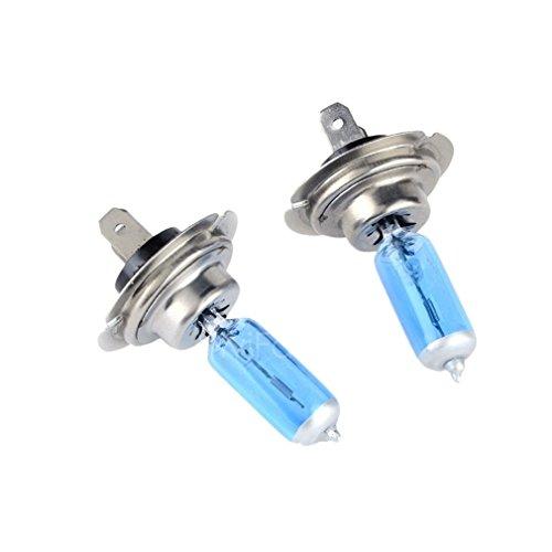 Preisvergleich Produktbild 2 pcs H7 XENON HALOGEN BULB 5000K Car Super Xenon Warm White Bulbs 12V 55W
