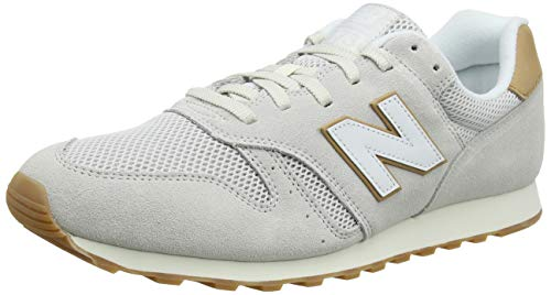 New Balance ML373, Zapatillas para Hombre, Blanco (Nimbus Cloud/Veg Tan Nbc), 45 EU