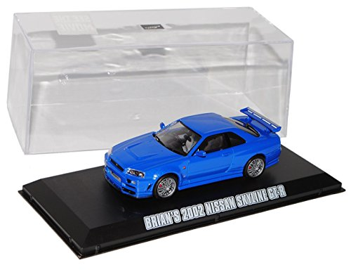 nissan-skyline-r34-gt-r-blau-1998-2002-brian-o-connor-fast-and-furious-1-43-greenlight-modell-auto