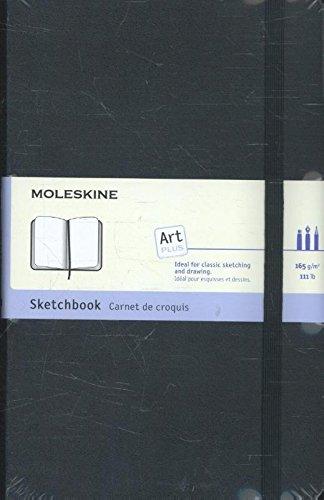 Moleskine Kreativ-Notizbücher, Skizzenbuch Large, Hardcover schwarz