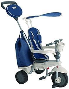 SMARTRIKE 1950700-Voyage-Triciclo para niños de 10Meses, Azul