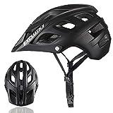 Exclusky Adulto Bicicletta,56-61cm,Colore Nero/Bianco (nero)