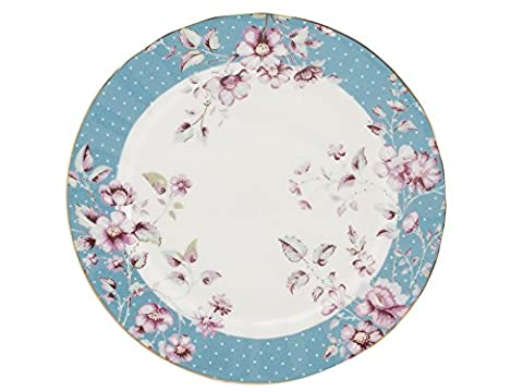 Katie Alice Ditsy Floral Teal Side