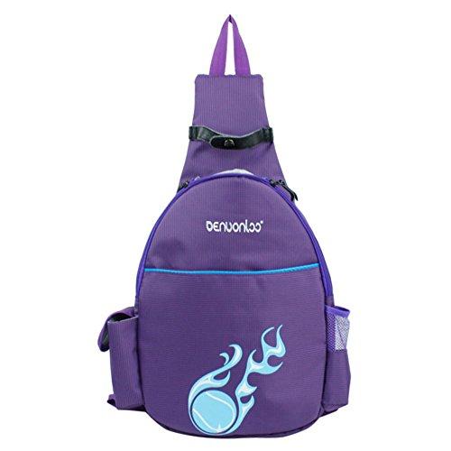BROADCOM Leichte Wanderrucksack, Natuce Multifunktionale Wasserdicht für Outdoor-Sport Unisex Rucksack Pro Training Backpack Violett