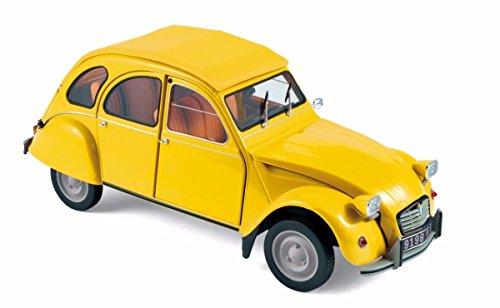 Norev Citroen 2CV 181496  6  Club 1979       Mimosa       Scale 1 18       Yellow