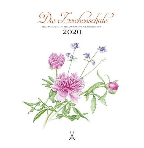 Die Zeichenschule 2020: Kalender der Staatlichen Porzellan-Manufaktur Meissen